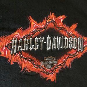 Harley-Davidson black T-shirt Sz XXL